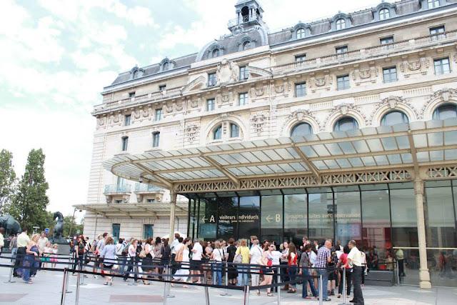 巴黎景點 奧賽美術館