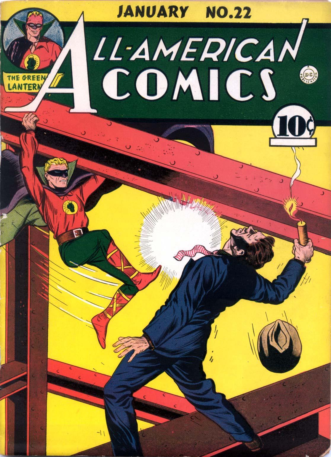 Read online All-American Comics (1939) comic -  Issue #22 - 1