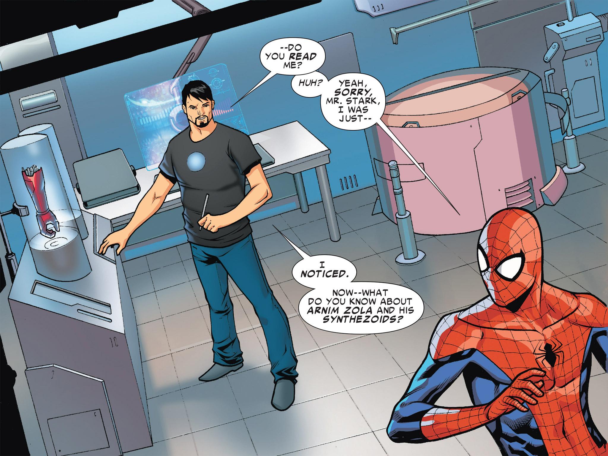 Read online Ultimate Spider-Man (Infinite Comics) (2016) comic -  Issue #4 - 7