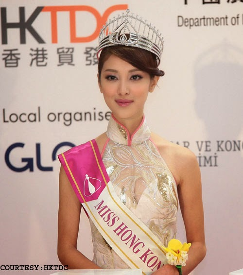 Lifestyle Expo in Istanbul : Miss Hong Kong at the event