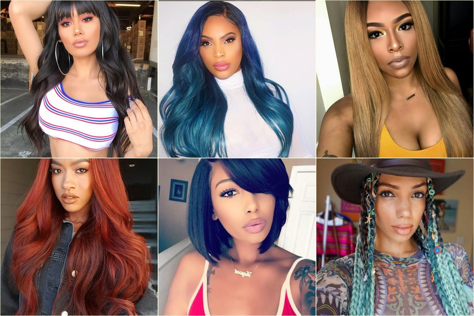 10 Black Girls Hairstyles And Color Ideas For Women In 2018 Hair Fashion Online