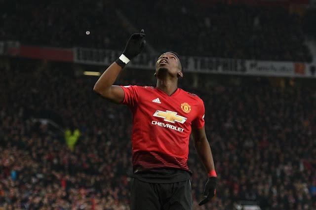 Paul Pogba Scores Manchester United Vs Brighton & Hove Albion