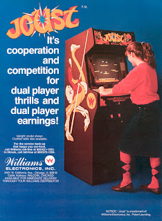 Flyer del Arcade Joust