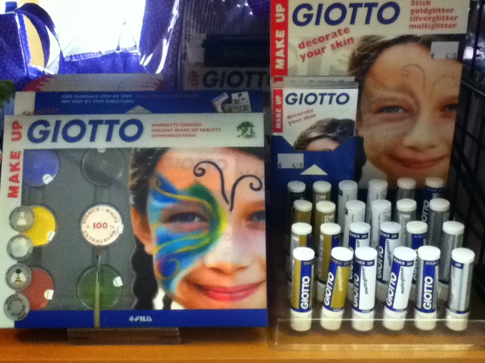 Giotto, Face Painting, Special Fx