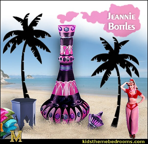 I dream of Jeannie bottles-fun decorations-I dream of Jeannie bottles-fun decorations