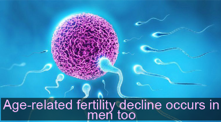 Age-related fertility decline occurs in men too