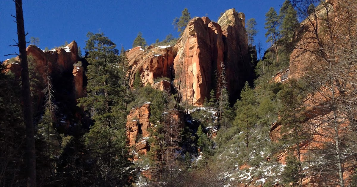 Flagstaff To Sedona >> West Fork Trail, Coconino National Forest