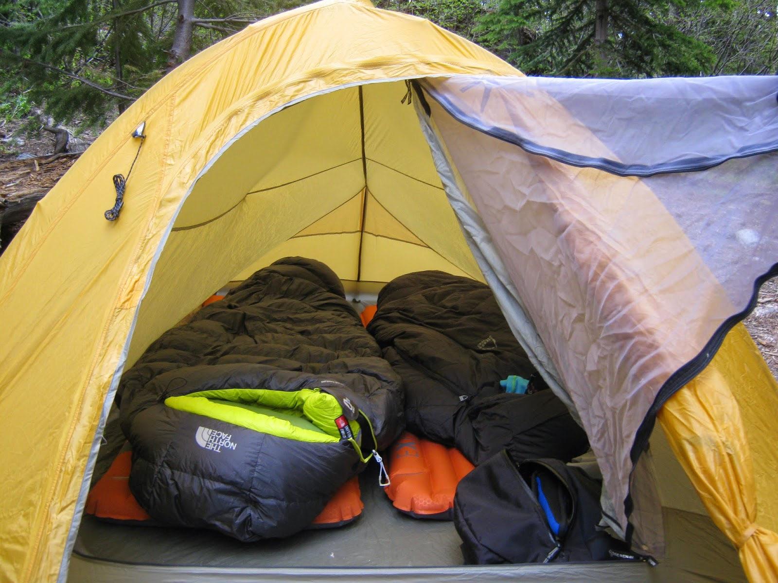 Wide enough and long enough for two Exped synmat 7 pumps and 4 season  sleeping bags. 59cf789d9b