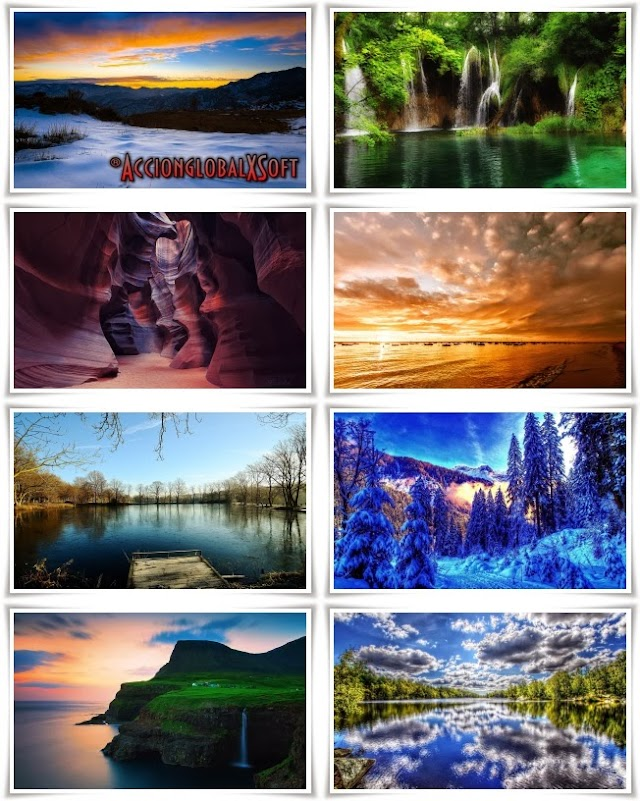 Wallpapers paisajes HD - Pack 45