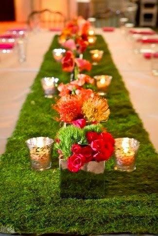 Wedding Table Decoration Ideas For a Green Wedding