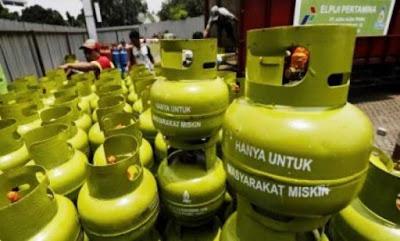 Mulai 1 Juli Dipasarkan Gas 3 Kg Non Subsidi
