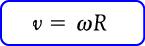 Rumus hubungan kecepatan linear dan kecepatan sudut