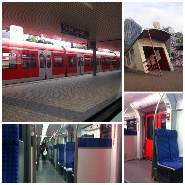 Transporte público em Frankfurt - SBahn/UBahn