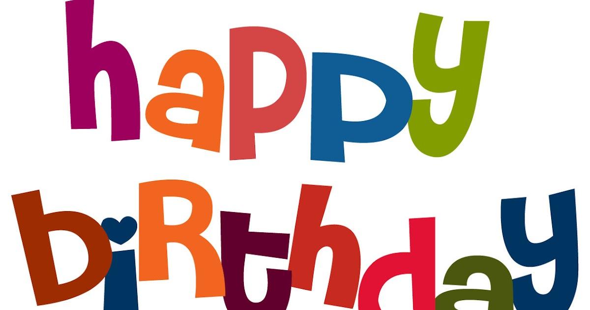 Cute Clipart: ♥ Cute Happy Birthday Clipart! ♥ (1200 x 630 Pixel)