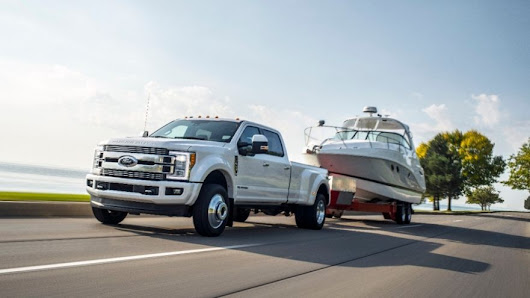 2018 Ford Super Duty at O'Meara Ford is the King of Work