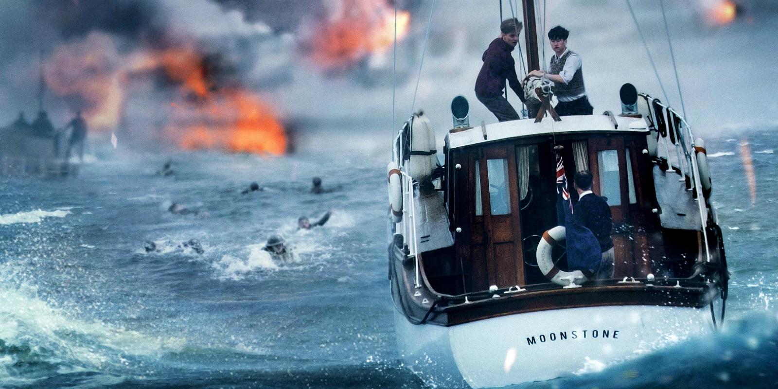 Dunkerque - la pelicula de Christopher Nolan - Escena mar