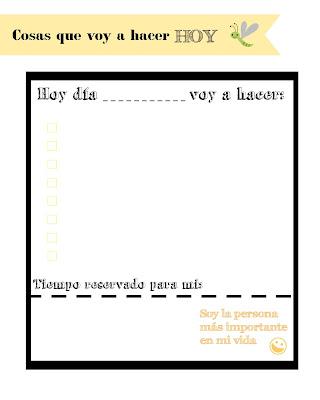 planificador diario descargable gratuito amarillo