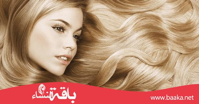 وصفات لتفتيح لون الشعر بشكل طبيعي