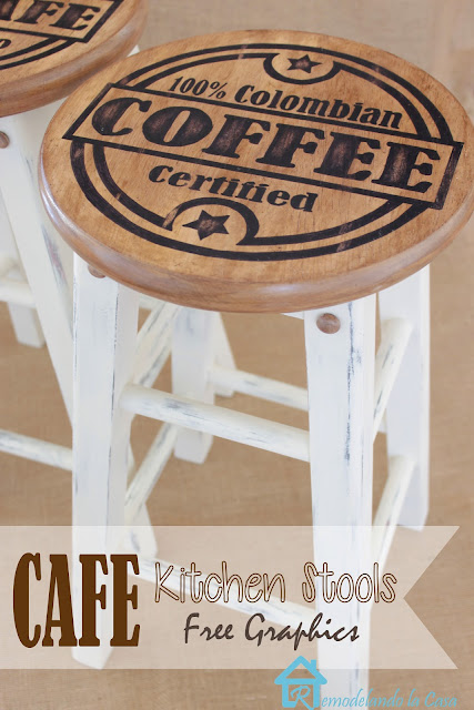 how to give old stools a new look