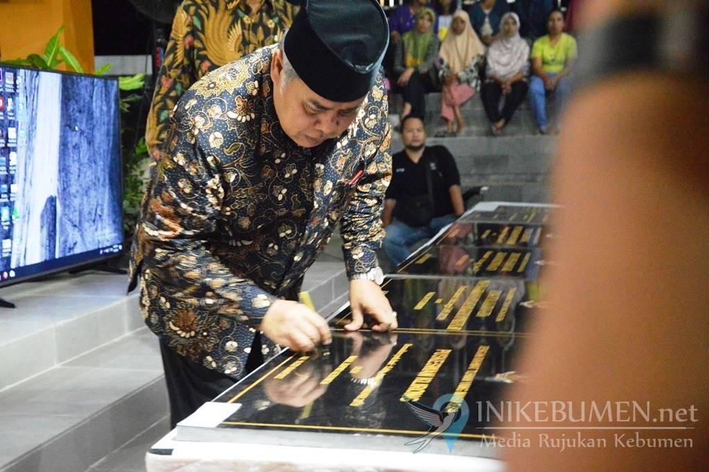 Puluhan Proyek Senilai Rp 217,5 miliar Diresmikan Wakil Bupati Kebumen