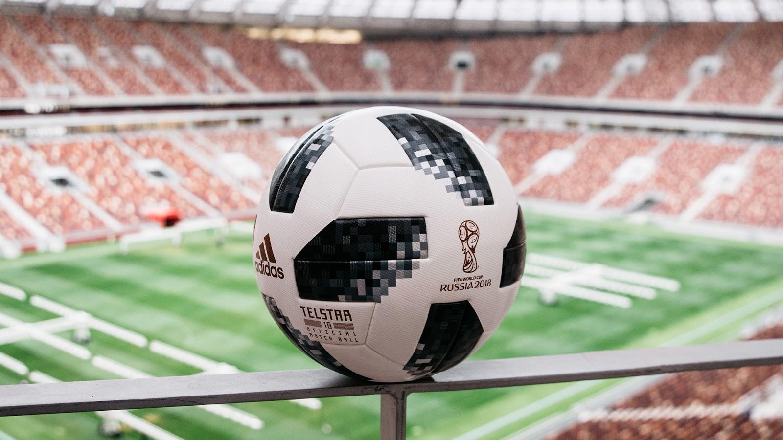 Adidas Telstar 18 - Bola Resmi Piala Dunia FIFA 2018 Rusia