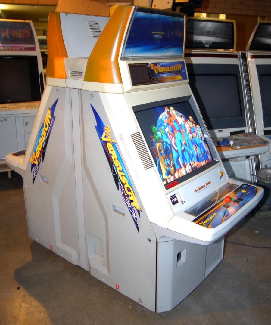 Random Arcade Shit: New Versus City Cabinet : SEGA 1996