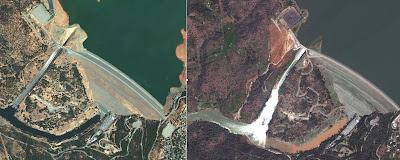 Oriville dam spillway