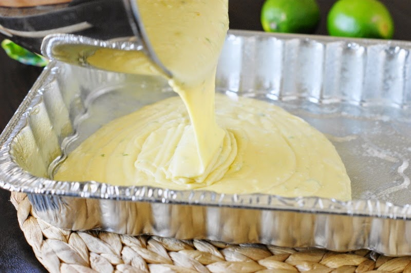 Making Margarita Cake-n-Jello Shots