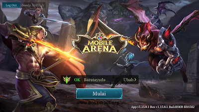 Tutorial Bermain 2 Akun Game Mobile Arena