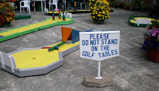 Rylstone Tea Gardens and Crazy Golf course in Shanklin, Isle of Wight