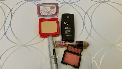 Fortnightly make up rotation Eye products Rimmel, No7, Maybelline, Clinique, Nars