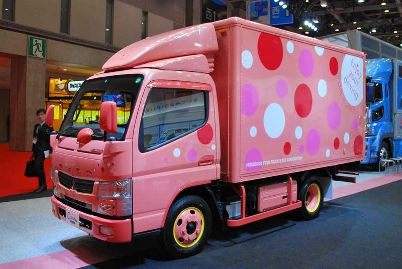Foto gambar full variasi truk canter keren modifikasi truk