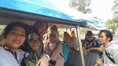Shuttle siap mengantar kami menjelajah  hotel Puri Asri Magelang. (Dok.Pri)