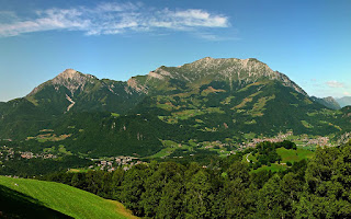 The Grigna massif in the province of Lecco