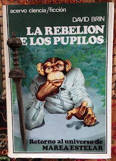 Portada del libro La rebelión de los pupilos, de David Brin