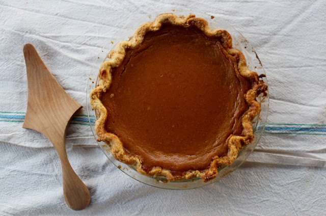 One-Pie New England Pumpkin Pie | Nothing in the House