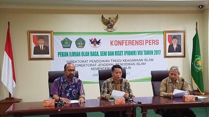 Kemenag Gelar Pekan Ilmiah, Olahraga, Seni, dan Riset (PINONIR) VIII di Aceh