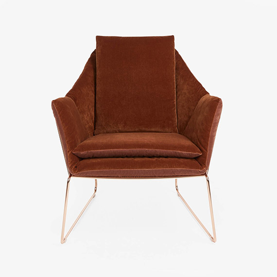 Saba Velvet Chair
