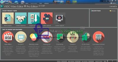 software video editing terbaik, VSDC Video Editor software video editing yang ringan dan mudah untuk digunakan