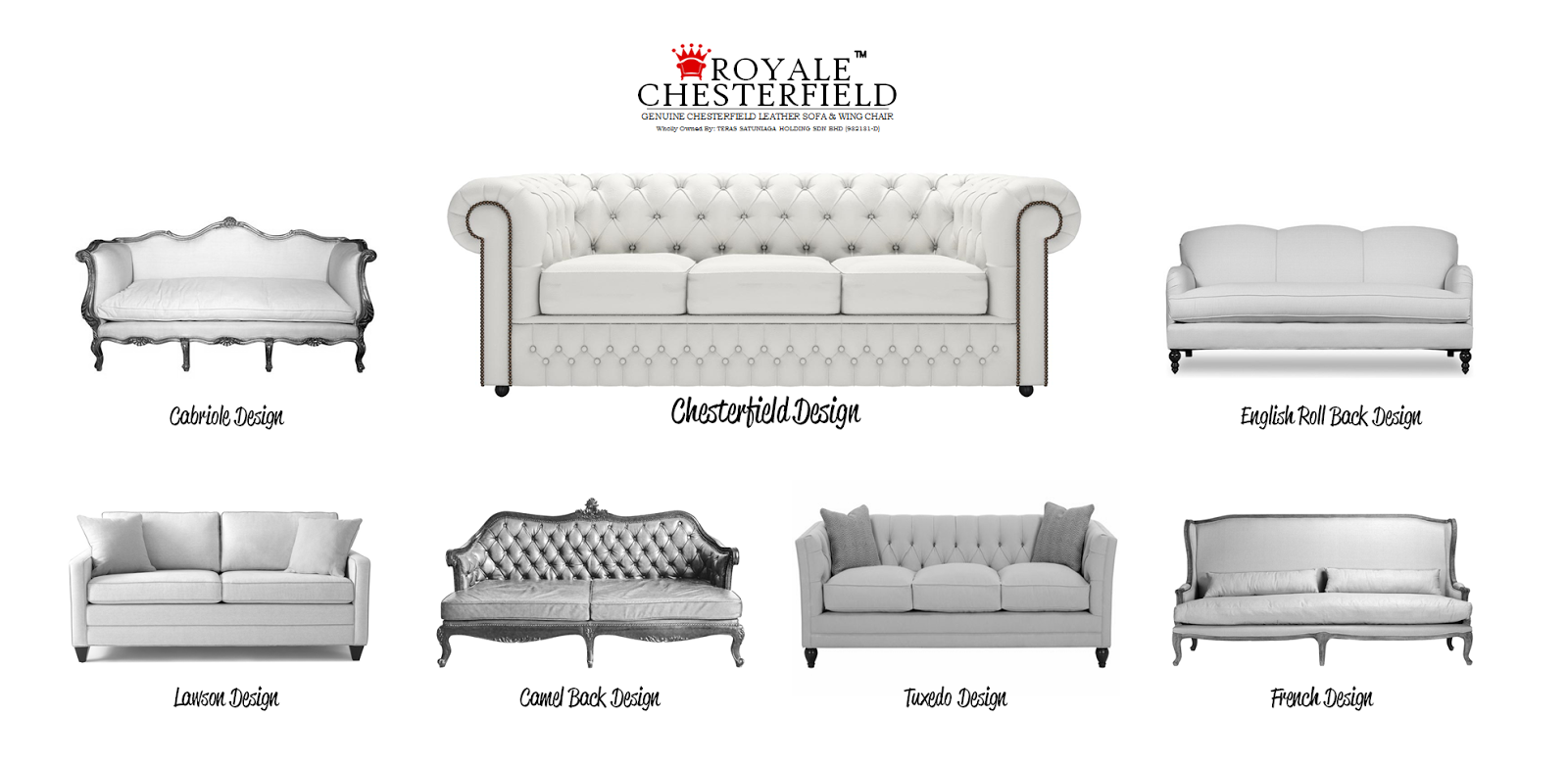 ROYALE CHESTERFIELD SOFA DESIGN MAKE YOUR CHOICE NOW