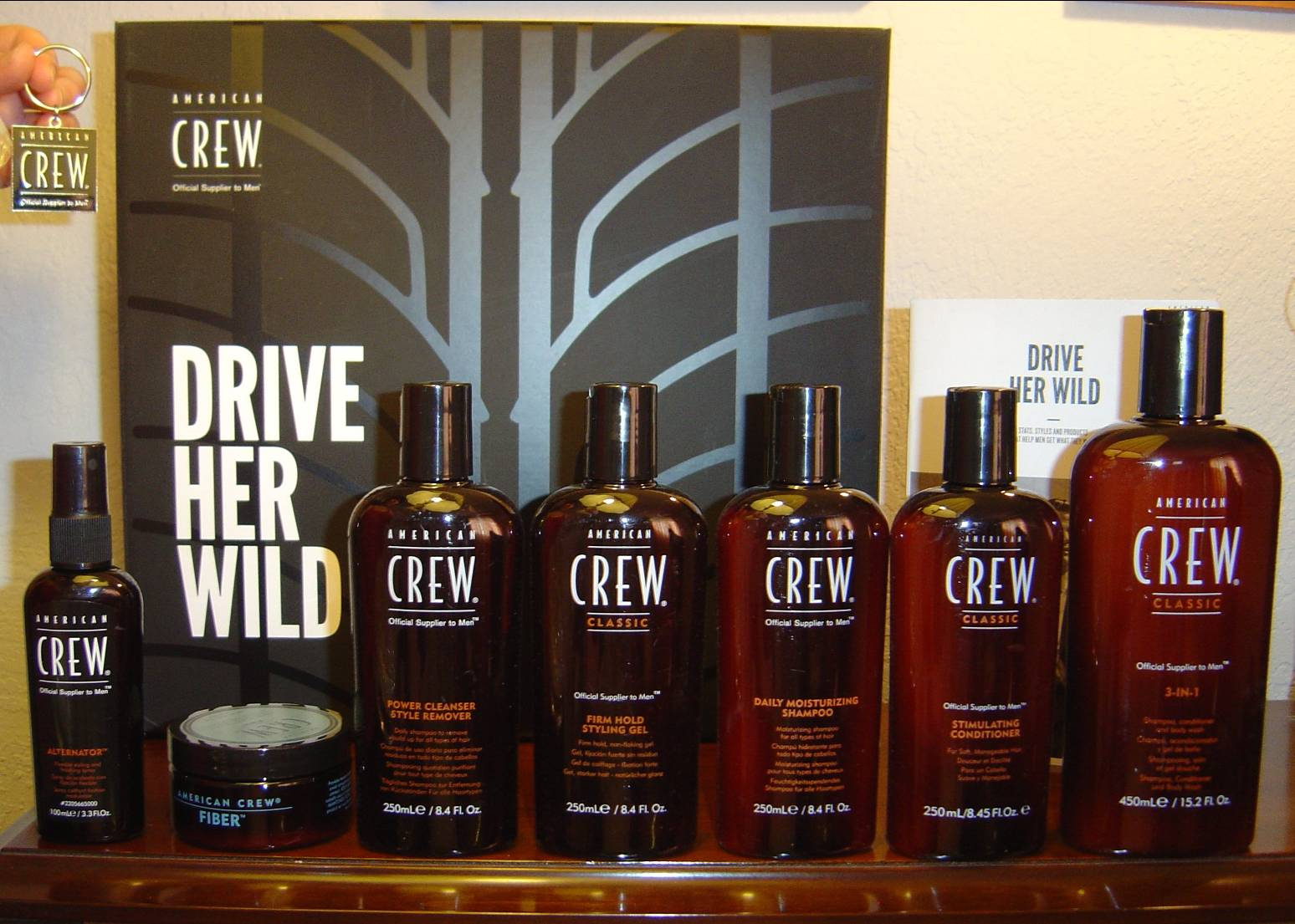 American Crew Hair Drive for Wild Products for Men