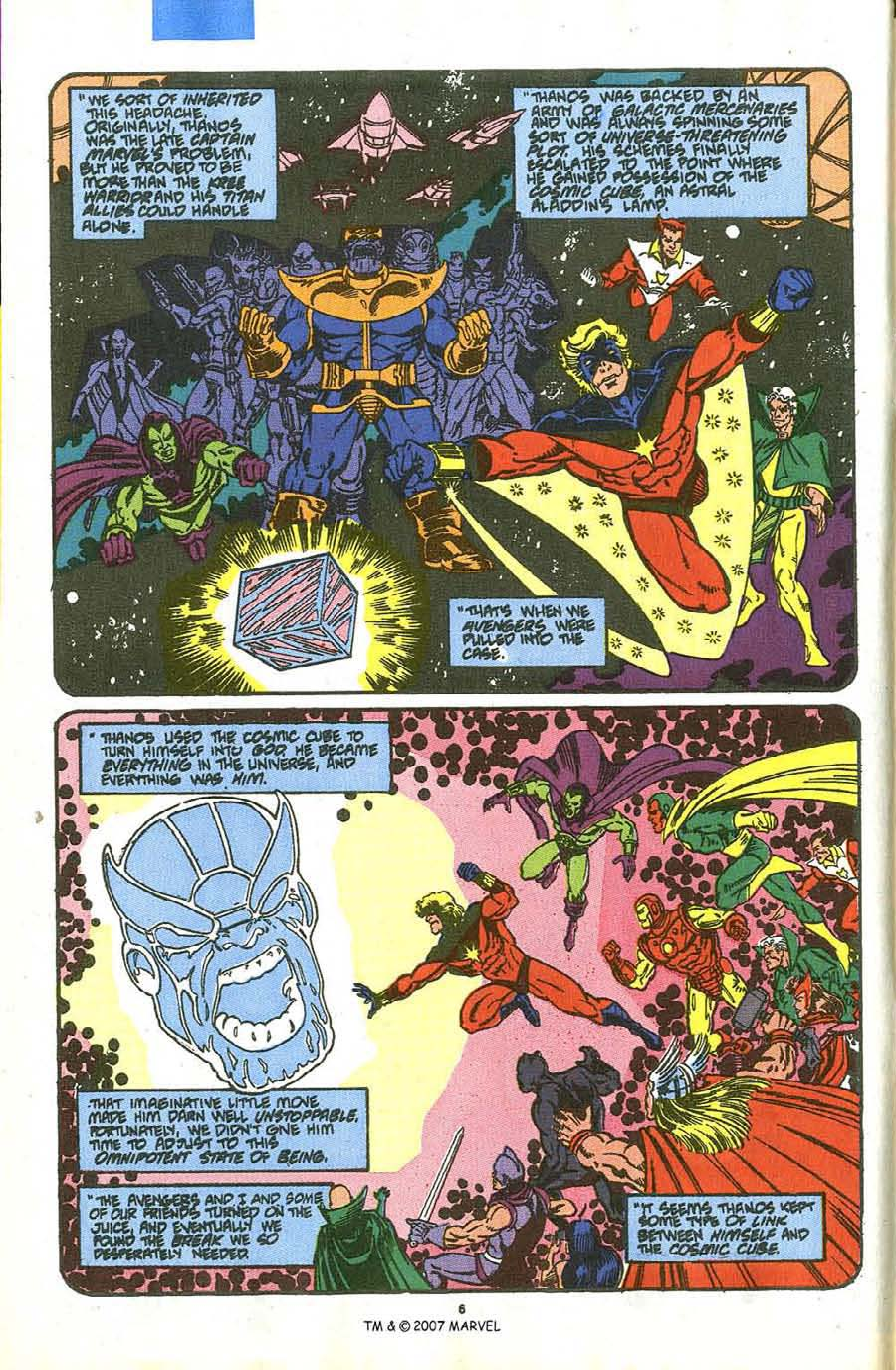 Read online Silver Surfer (1987) comic -  Issue #36 - 8