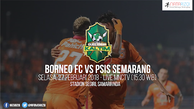 Live Streaming Borneo FC vs PSIS Semarang