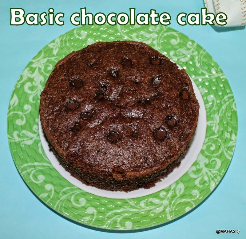 Spongy Chocolate Cake