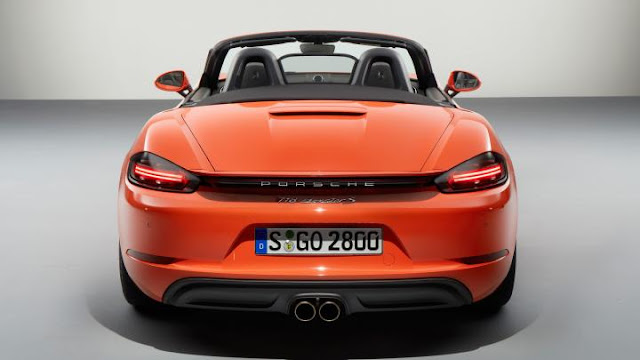 2016 Porsche 718 Boxster S