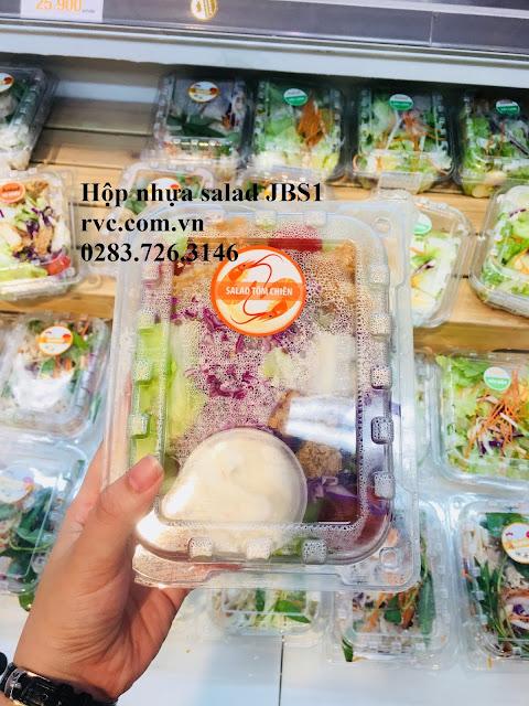 Hộp đựng salad phù hợp cho cửa hàng fastfood