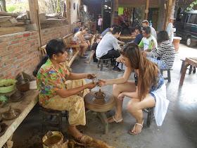 borobudur village activity