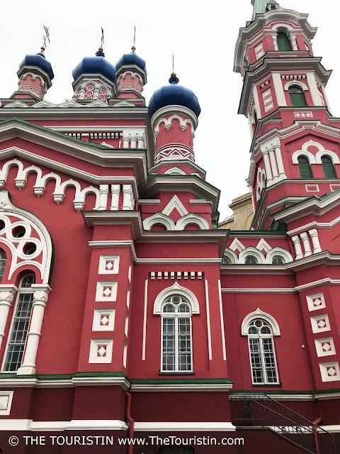 Holy Trinity Orthodox Church in Āgenskalns riga latvia the touristin