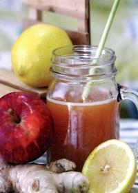 Jus apel lemon jahe untuk asam urat