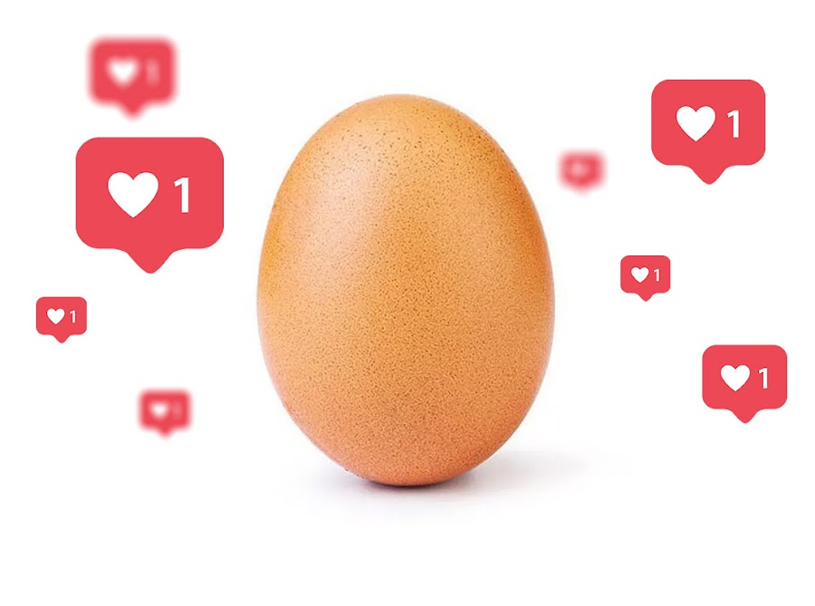 Even A Stock Photo Of Featuring A Single Egg Can Beat The World Record Of Most Liked Photo on Instagram